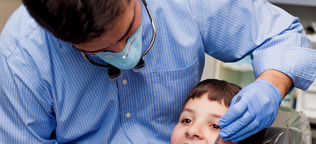 Dr. Sampietro's Cavity-Free Club and iPad minis help kids relax and enjoy their dental visits